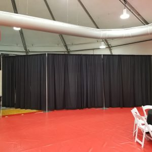 10' Tall Pipe and Drape Rental