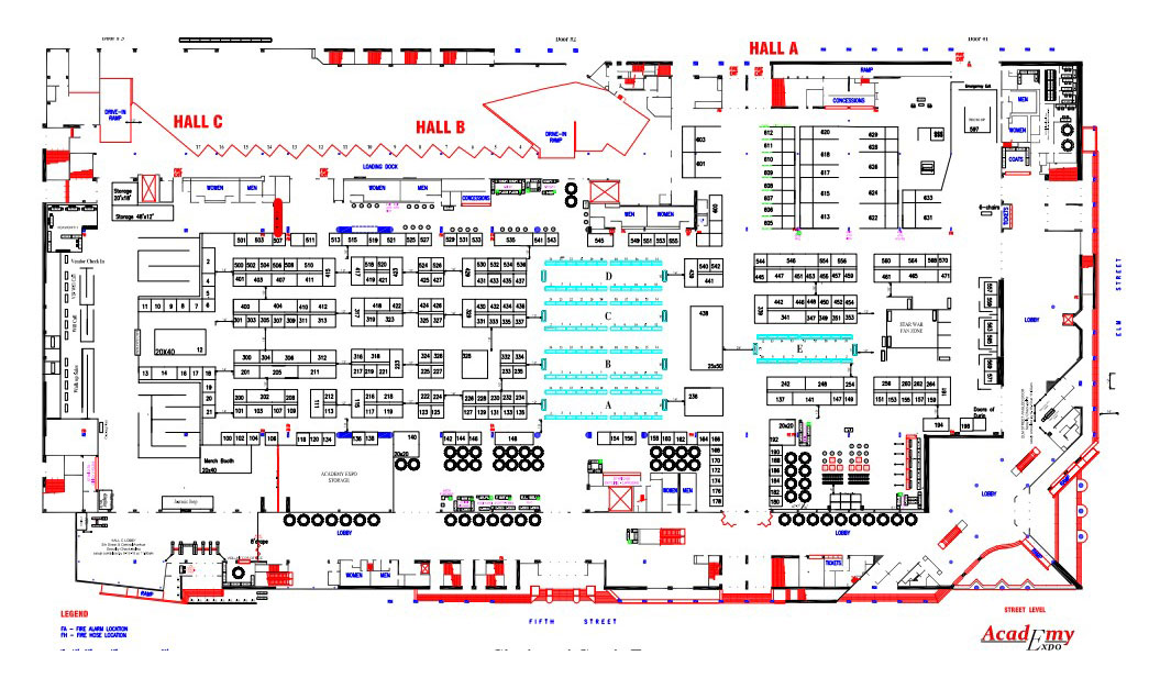 Convention-Custom-CAD-Layout